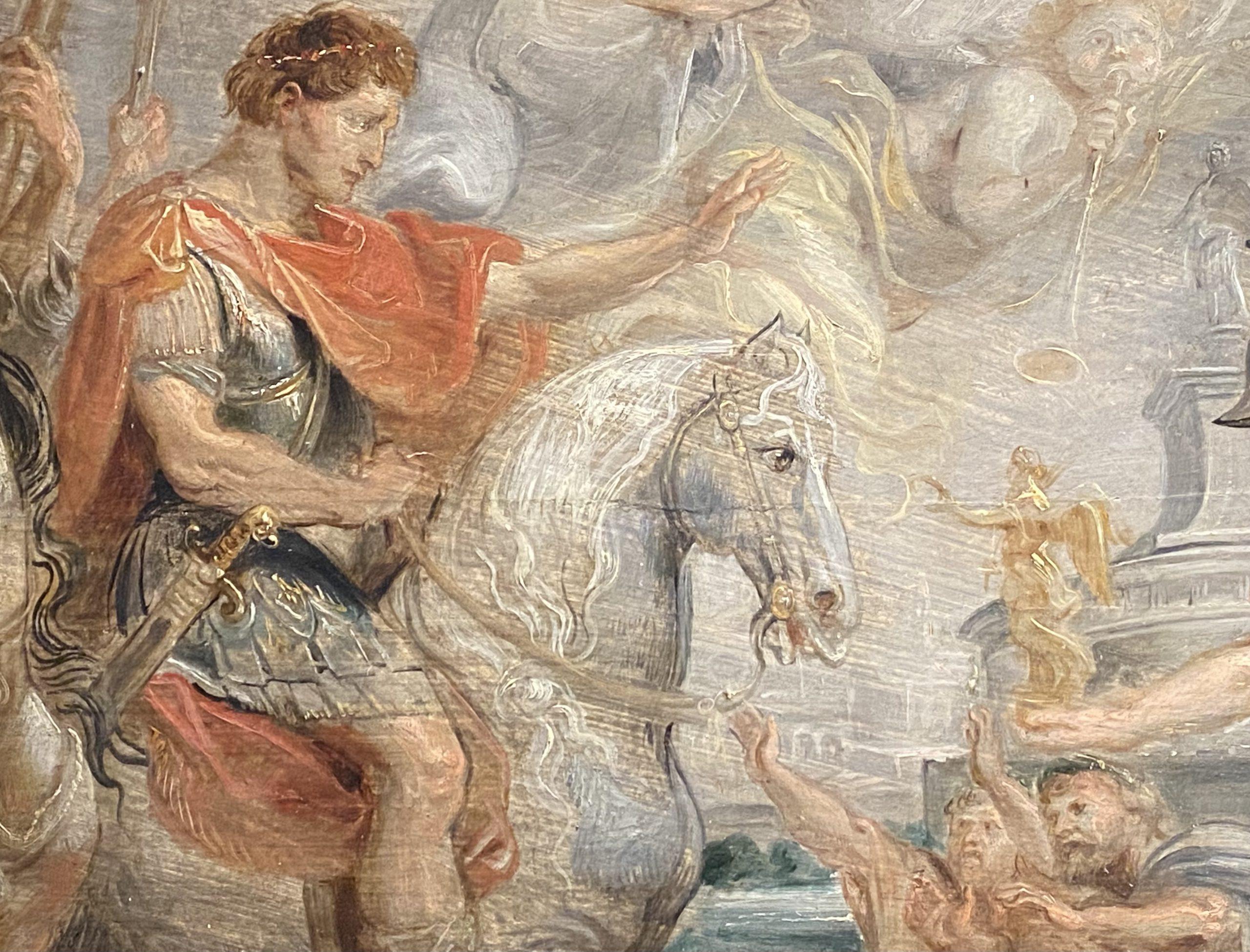 コンスタンティンのローマへの凱旋-ピーターポールルーベンス-特別展【光影浮空-欧州絵画500年】-成都博物館