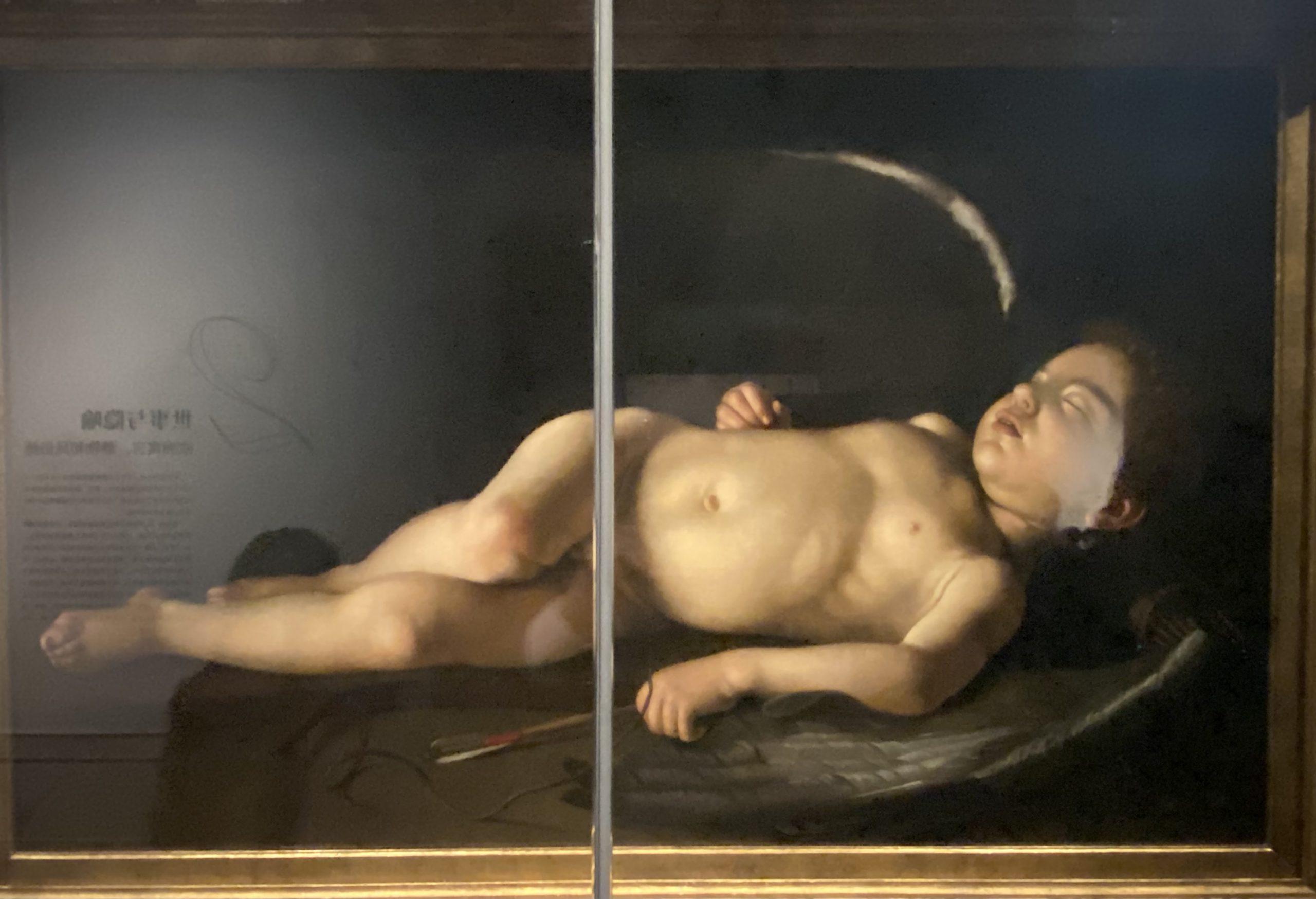 眠っているキューピッド-ミケランジェロメレシの信者-イタリア-特別展【光影浮空-欧州絵画500年】-成都博物館