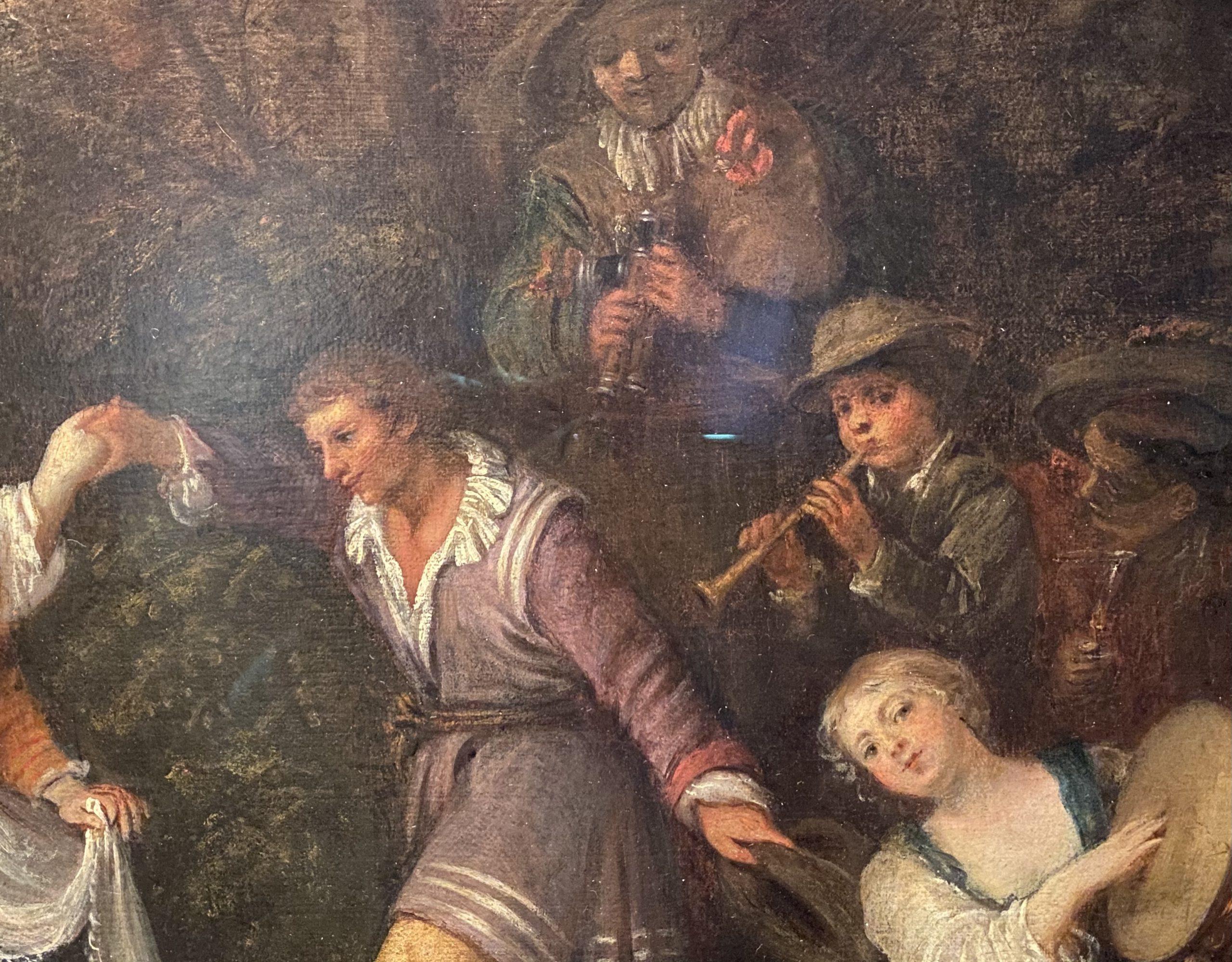 農村踊り-ジャン・アントワーヌ・ヴァトー-フランス-特別展【光影浮空-欧州絵画500年】-成都博物館