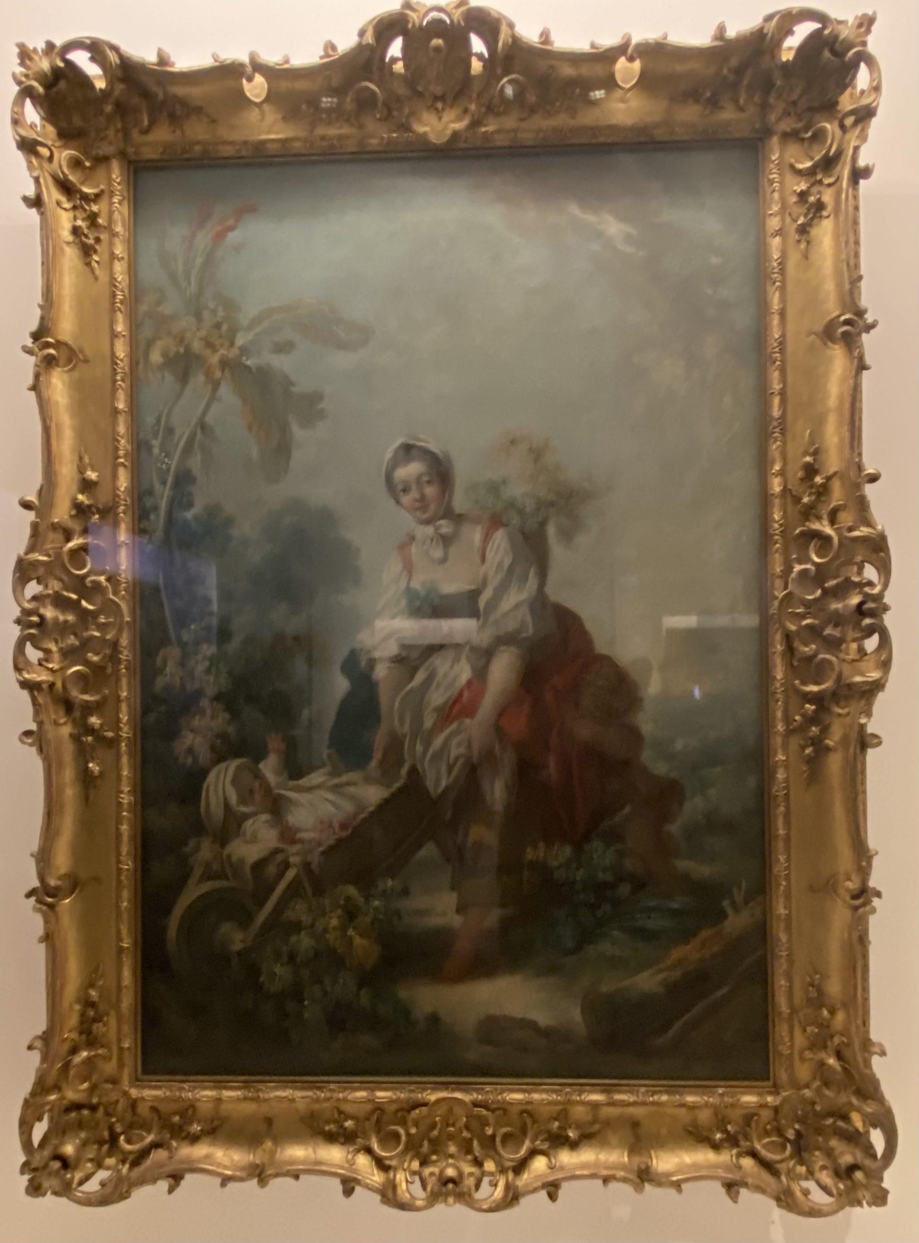 母愛の喜び-ジャン・オノレ・フラゴナール-フランス-特別展【光影浮空-欧州絵画500年】-成都博物館