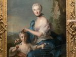マダムクロザットデティエールと彼女の娘の肖像-ジャン・マルク・ナティエ-フランス-特別展【光影浮空-欧州絵画500年】-成都博物館