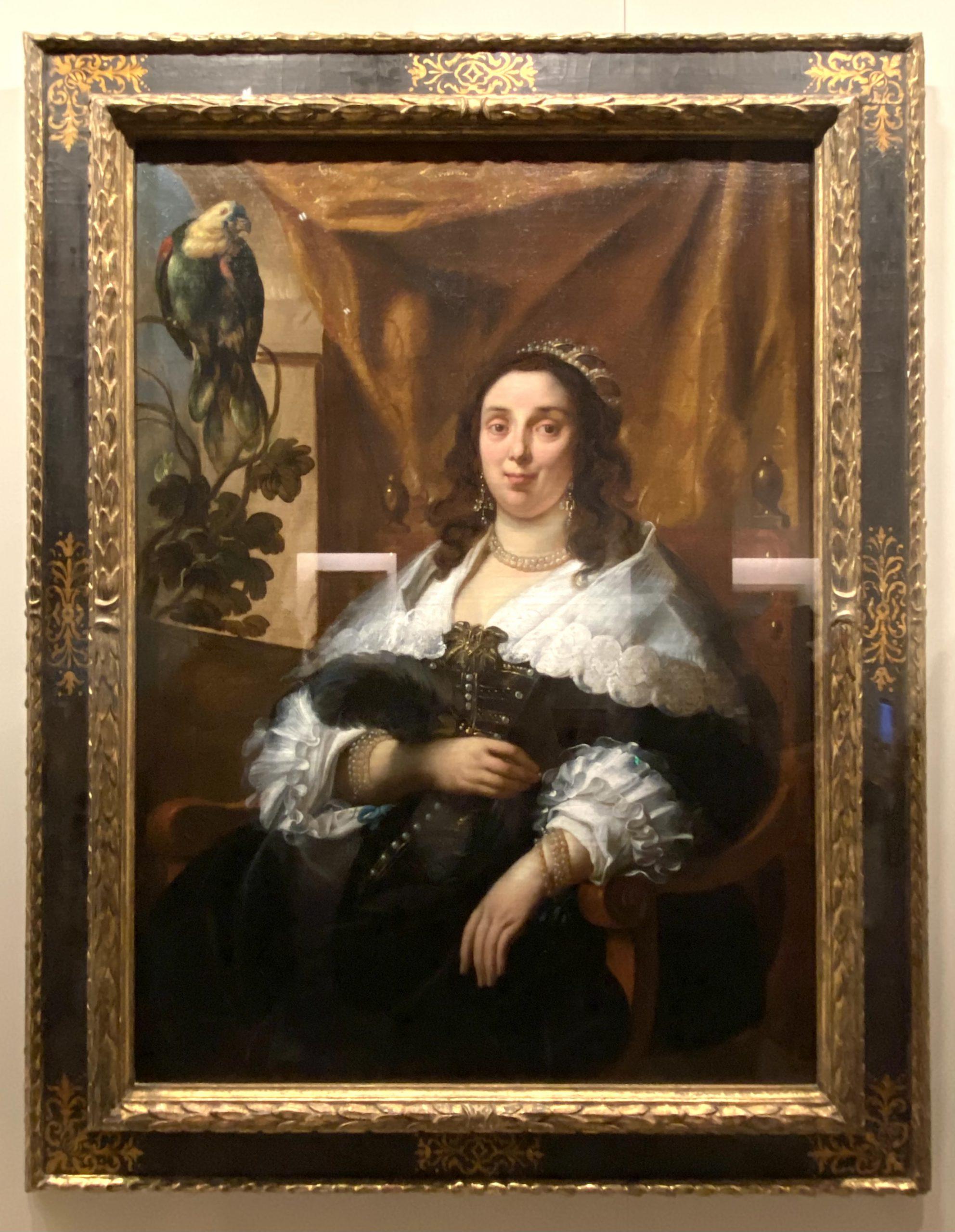 女士肖像-ジェイコブ・ジョーダン-特別展【光影浮空-欧州絵画500年】-成都博物館