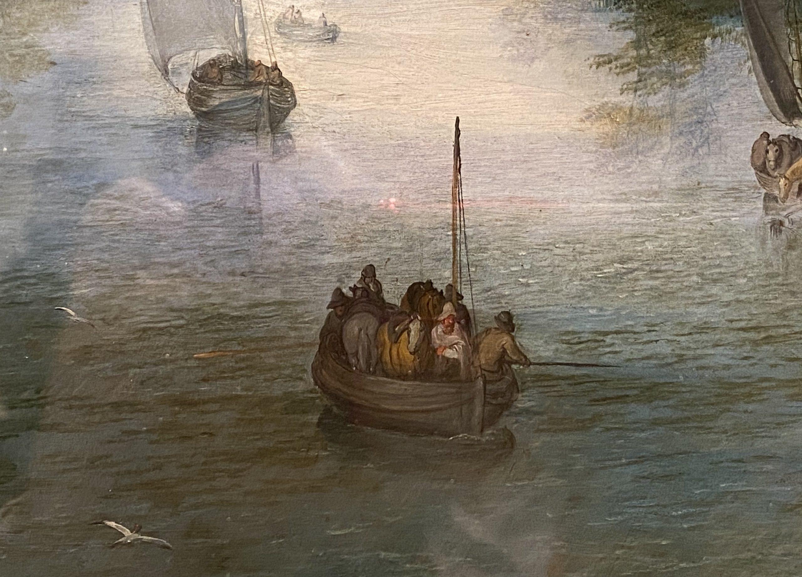 川の風景-ヤン・ブリューゲル長老-特別展【光影浮空-欧州絵画500年】-成都博物館