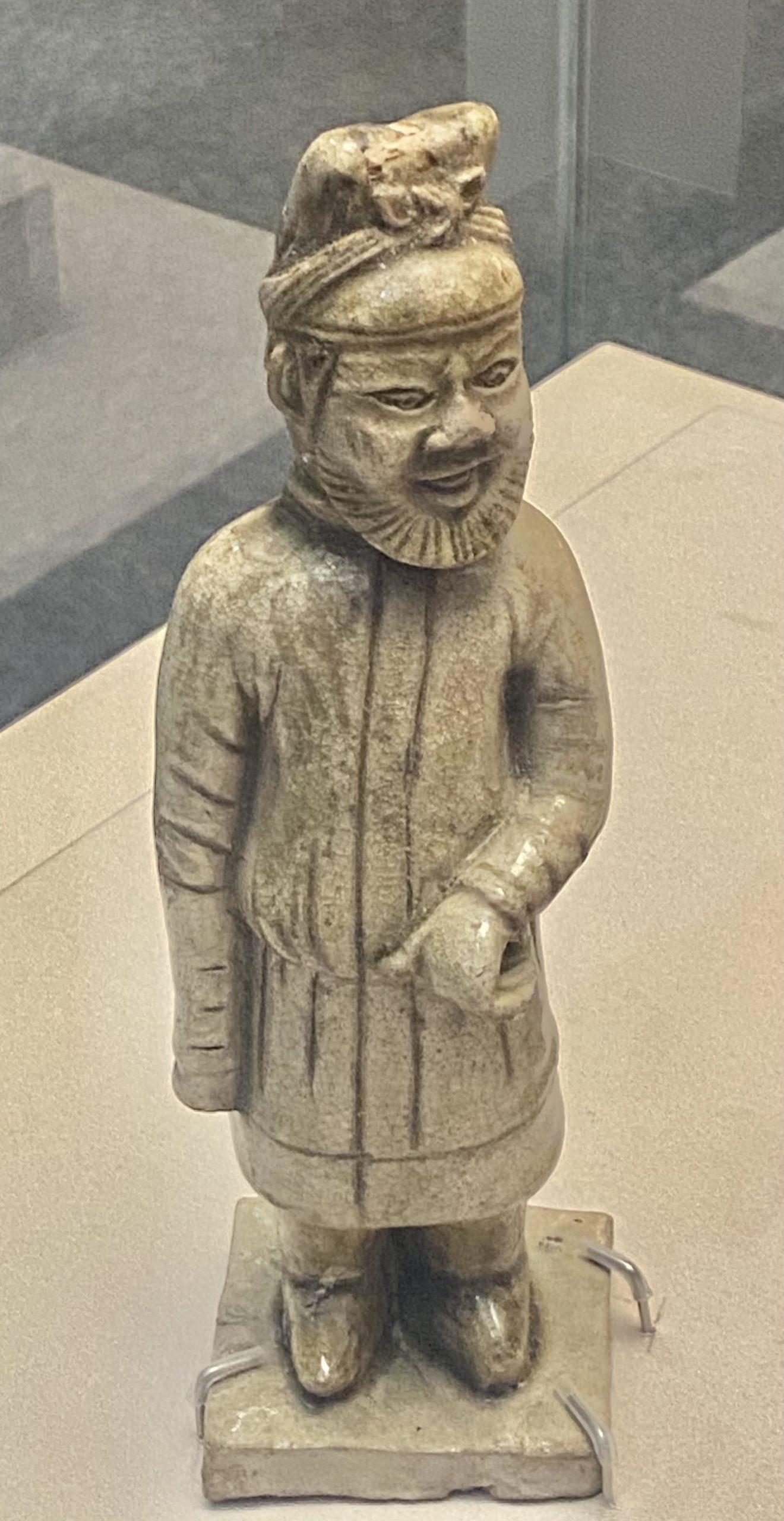 青釉牽馬磁俑-唐時代-巡回特別展【天歌長歌-唐蕃古道】-四川博物館