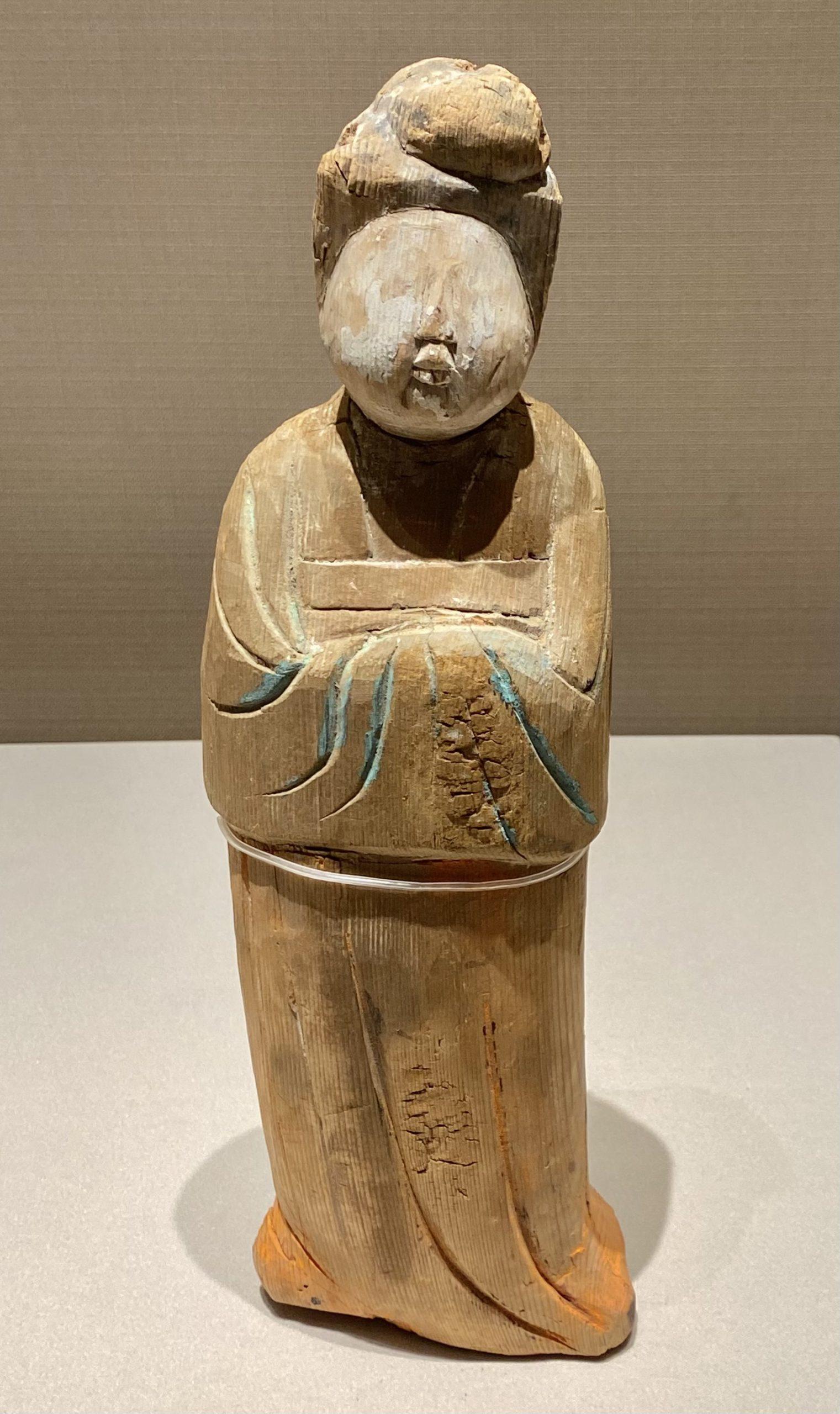女木俑-唐時代-巡回特別展【天歌長歌-唐蕃古道】-四川博物館