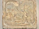 獅紋画像レンガ-唐時代-巡回特別展【天歌長歌-唐蕃古道】-四川博物館