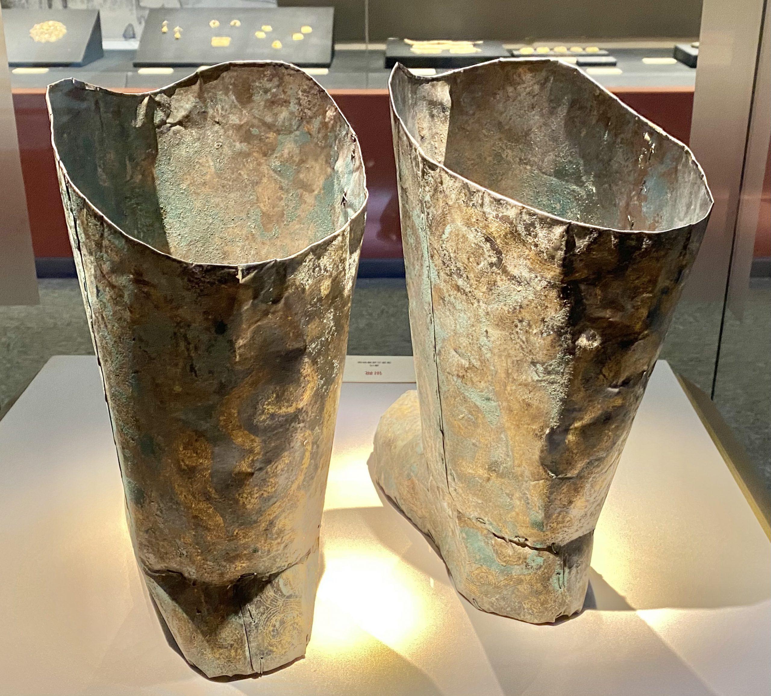 銀靴-唐時代-巡回特別展【天歌長歌-唐蕃古道】-四川博物館