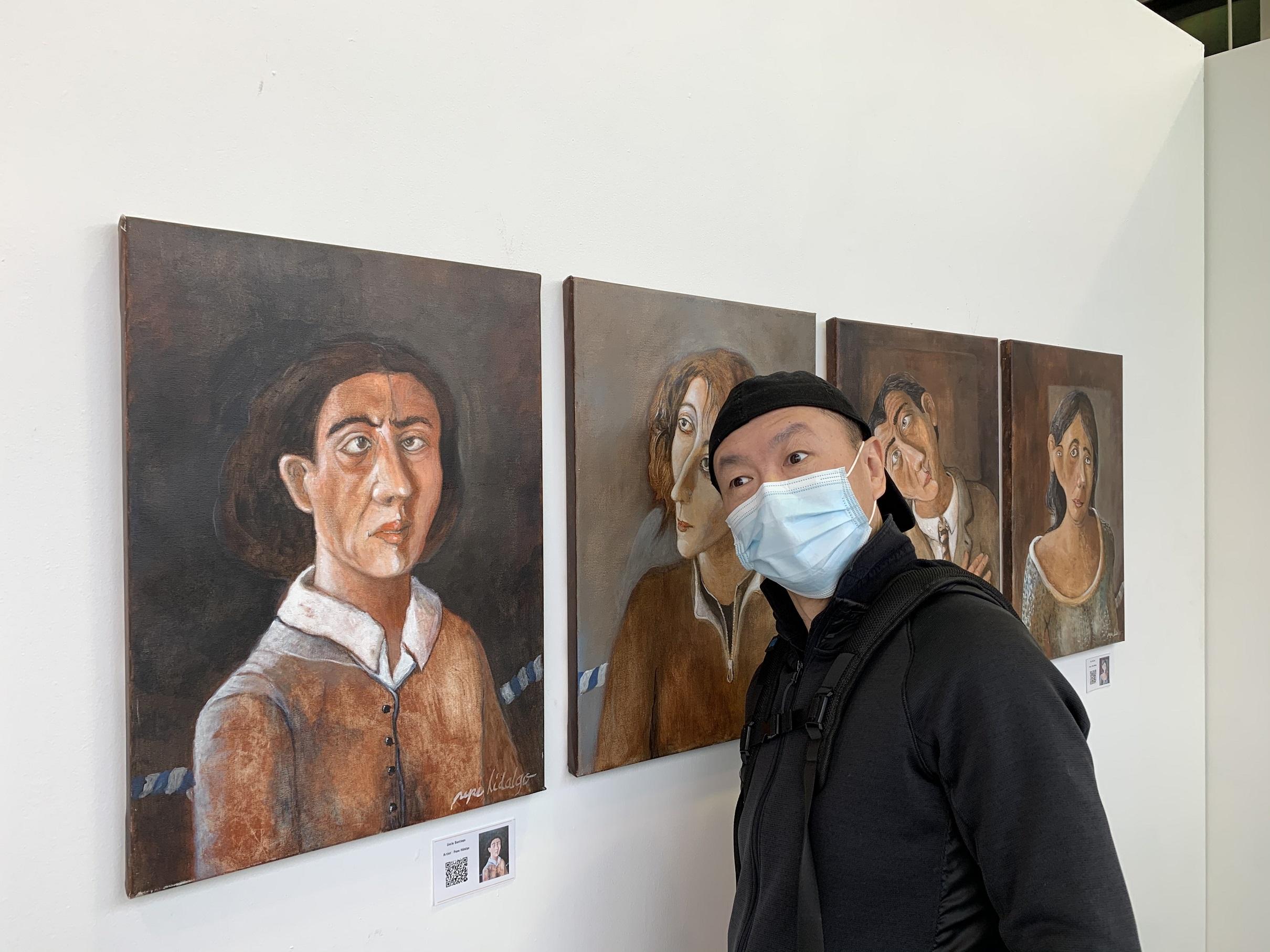 【個展】魂の故郷-郭燕とPEPE HIDALGOの対話-LIPONTギャラリー-バンクーバー-カナダ