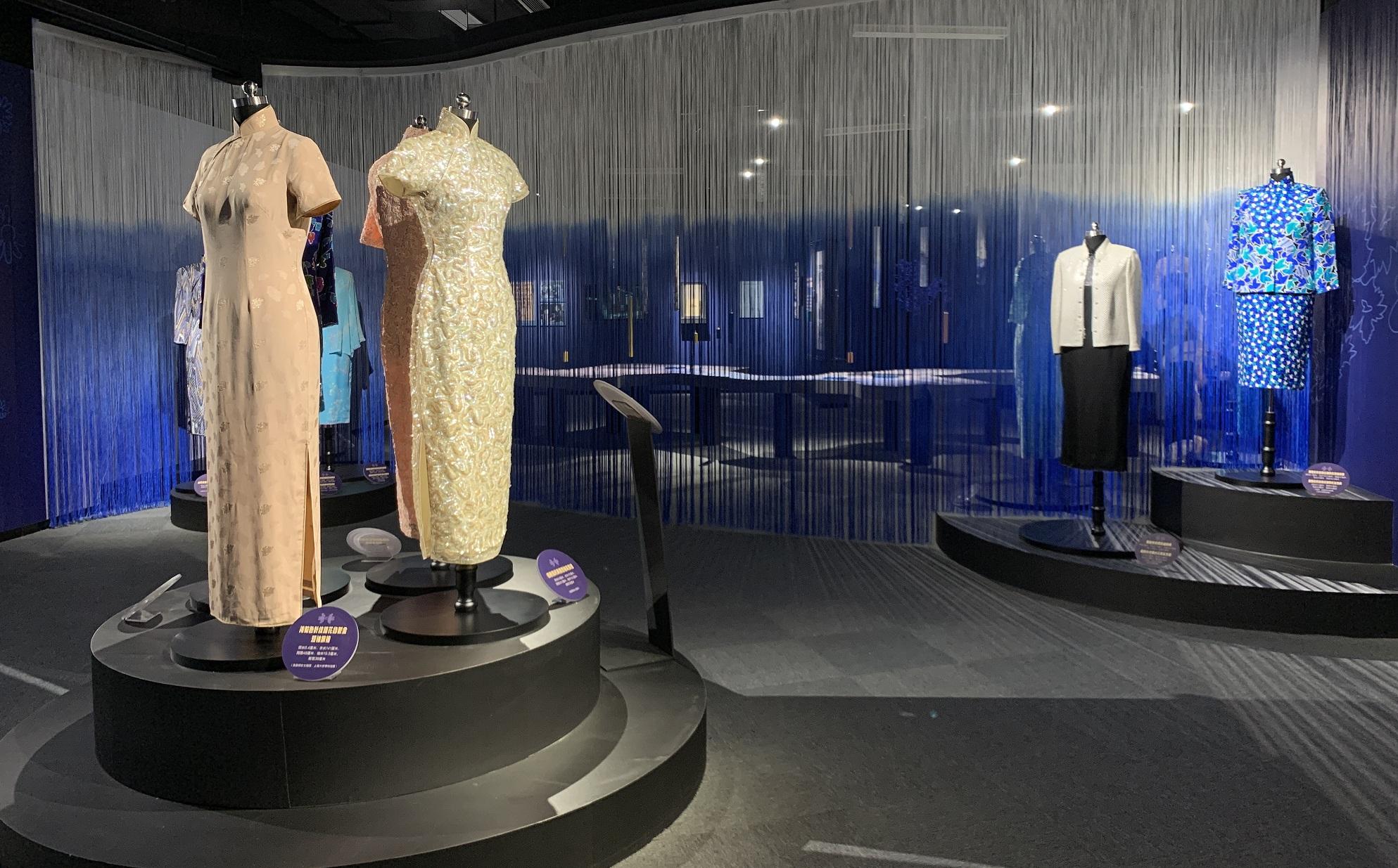 「海上の明月、軽い裾に風を追う-江南の貴族と海派チャイナドレス」の開会式と海派文化博物館の開館式