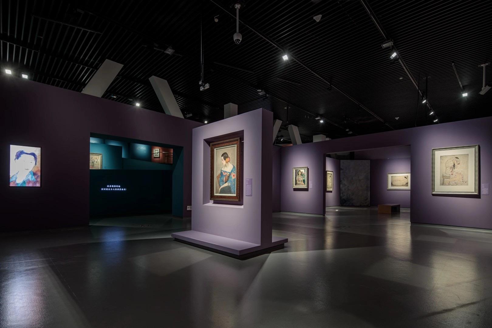 特別展【玉汝にする成功—潘玉良の芸術人生】成都博物館・安徽博物院