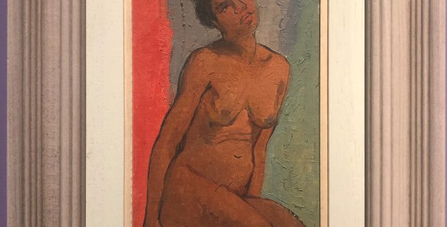 黒人裸婦-特別展【玉汝にする成功—潘玉良の芸術人生】成都博物館・安徽博物院