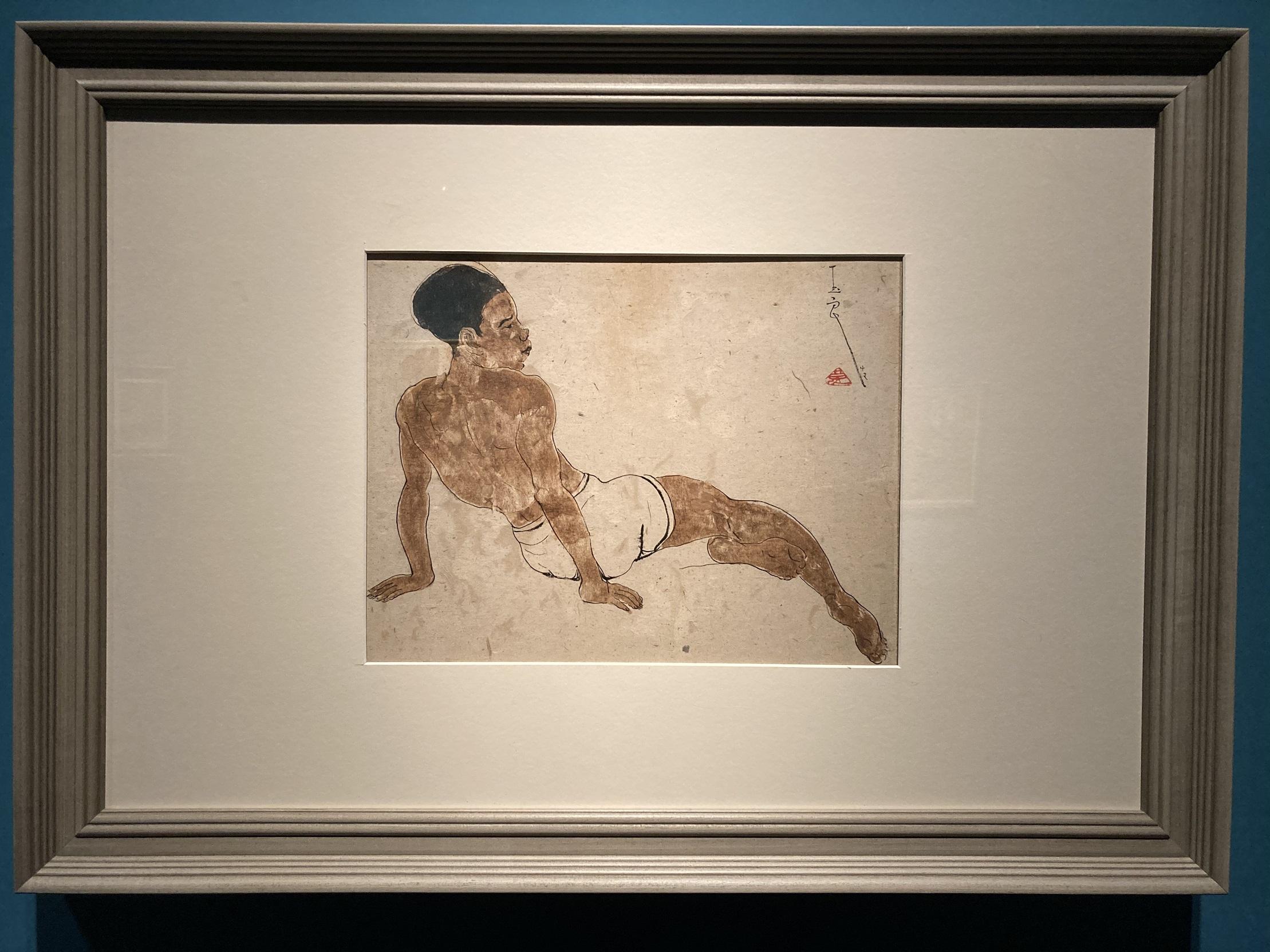 ショートパンツ男子-特別展【玉汝にする成功—潘玉良の芸術人生】成都博物館・安徽博物院