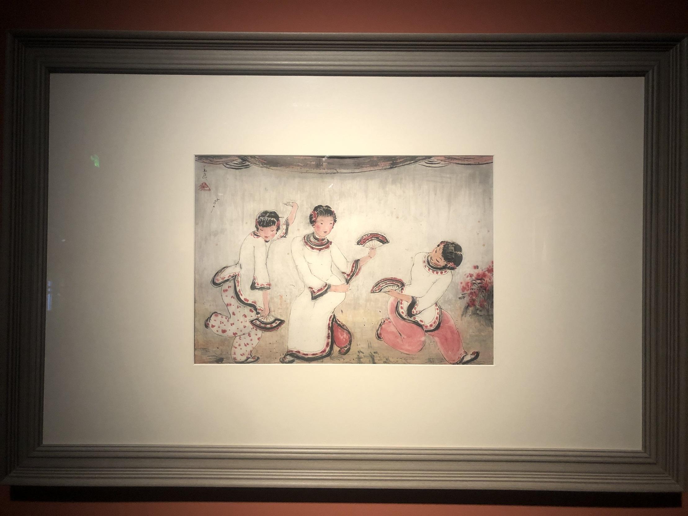 3人のファンダンス-特別展【玉汝にする成功—潘玉良の芸術人生】成都博物館・安徽博物院