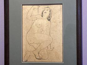 ネックレス持ち裸婦-特別展【玉汝にする成功—潘玉良の芸術人生】成都博物館・安徽博物院