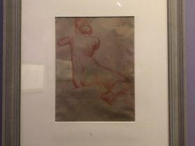 背向き裸婦-特別展【玉汝にする成功—潘玉良の芸術人生】成都博物館・安徽博物院