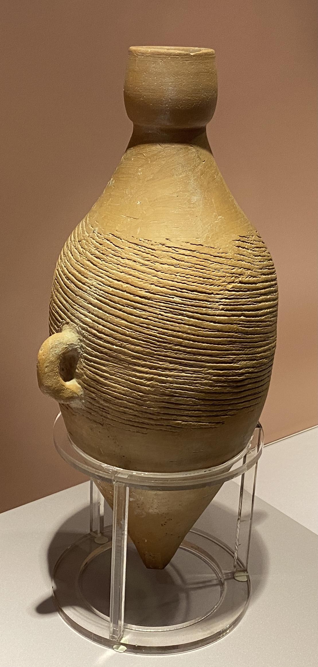 双耳小口尖底瓶-新石器時代-仰韶文化-特別展【食味人間】四川博物院・中国国家博物館