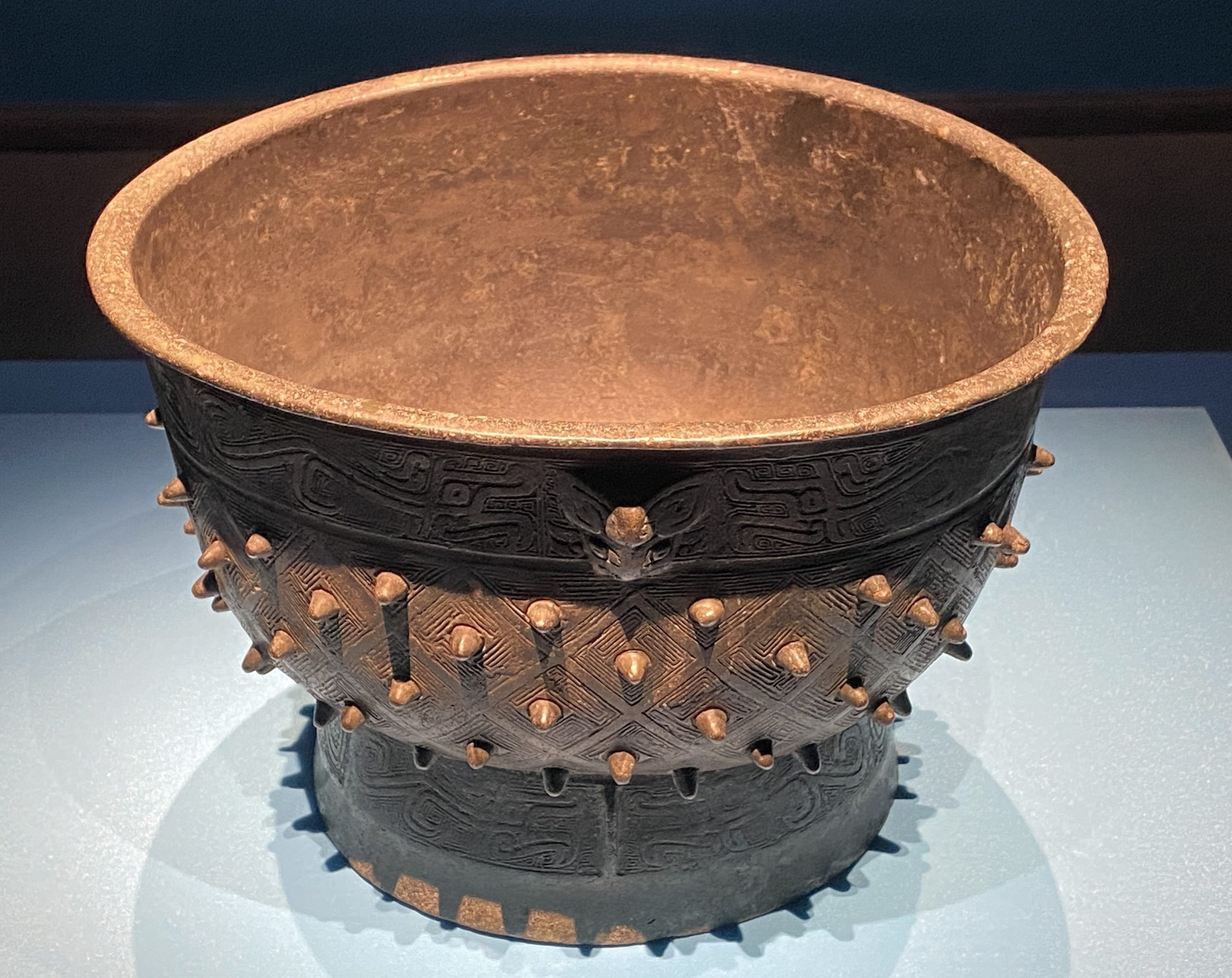 【父己】銅簋-新石器時代-商時代-特別展【食味人間】四川博物院・中国国家博物館