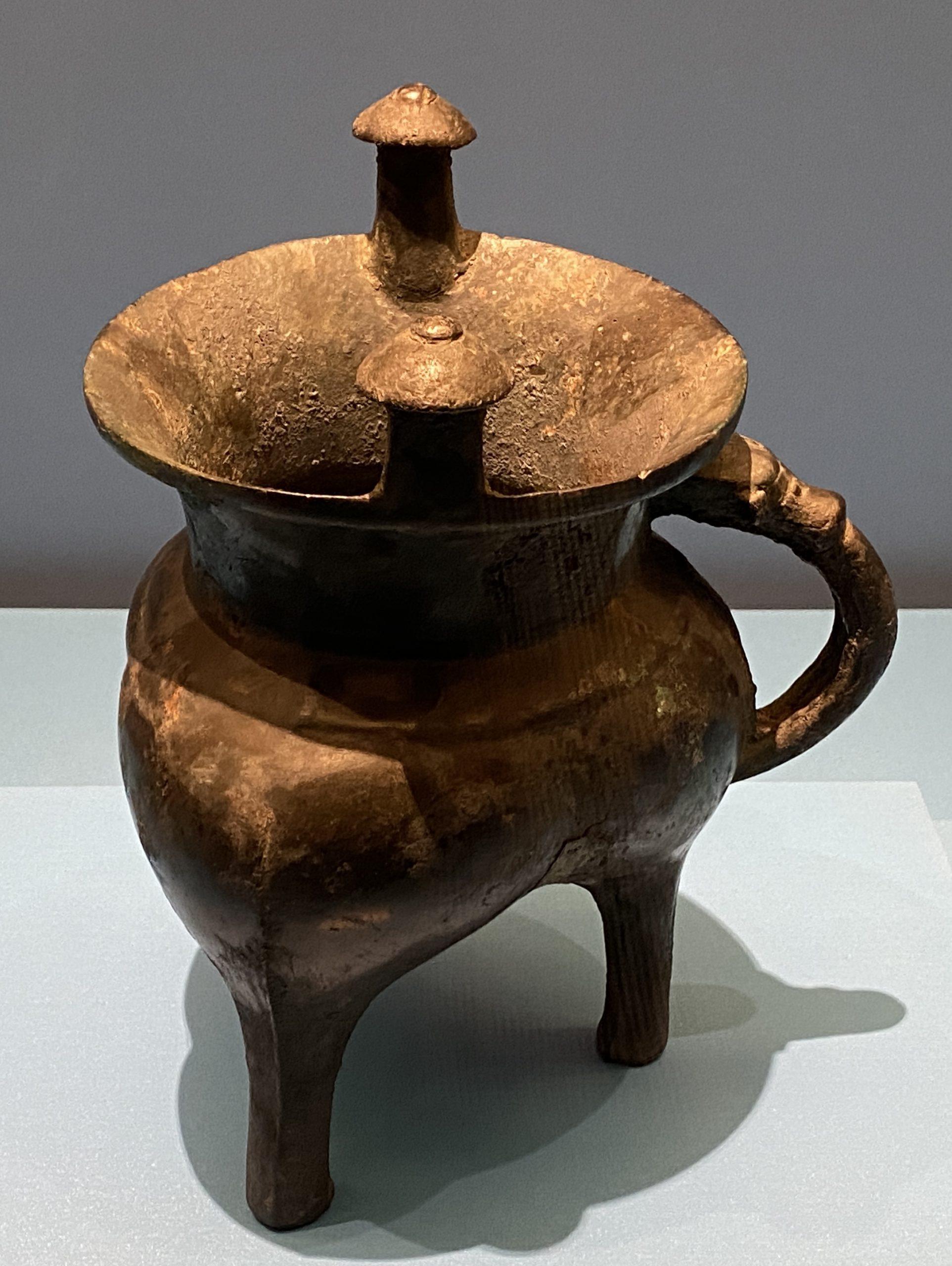 「祖己」銅斝-商時代-特別展【食味人間】四川博物院・中国国家博物館