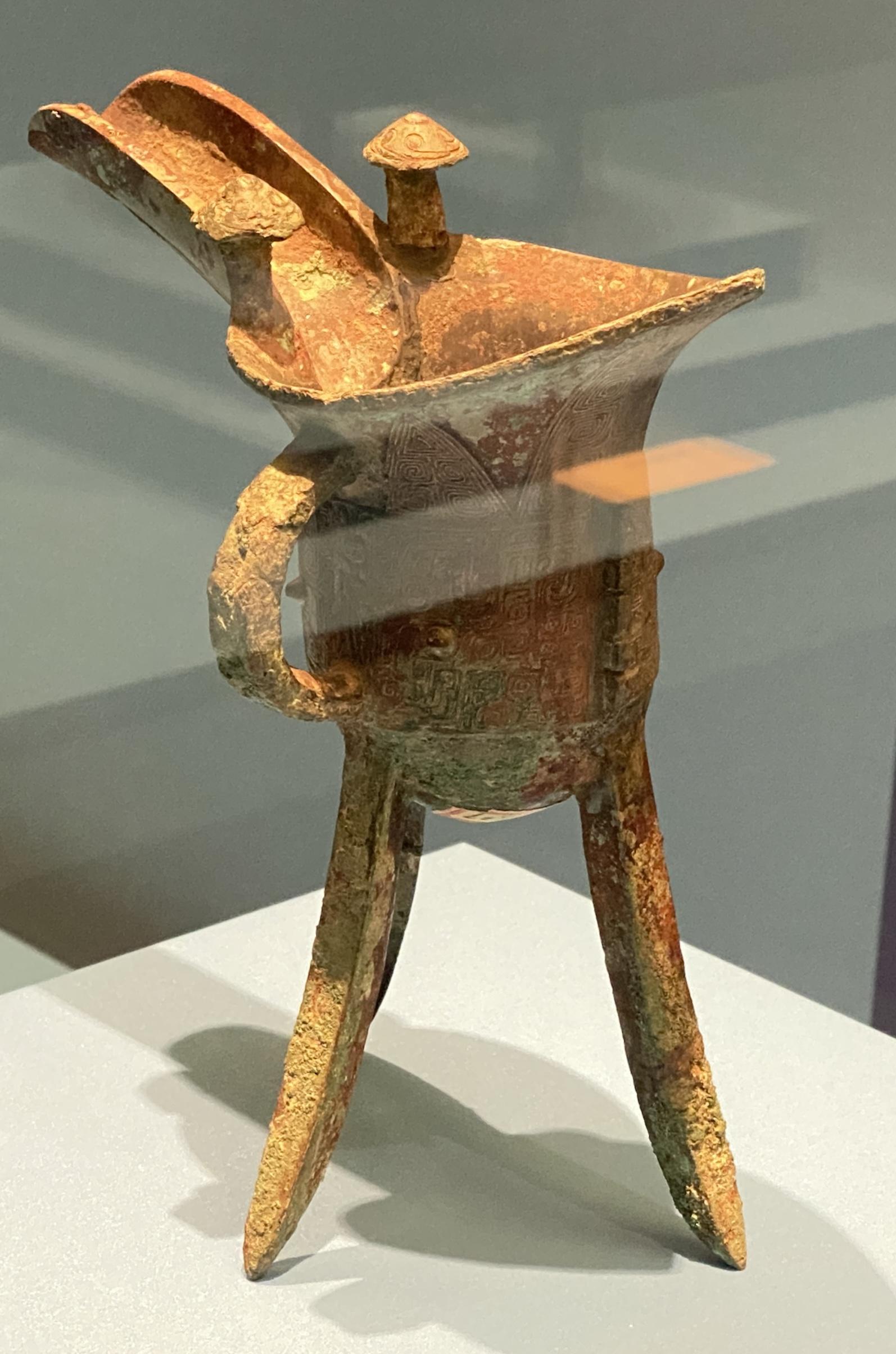 銅爵-商時代-特別展【食味人間】四川博物院・中国国家博物館