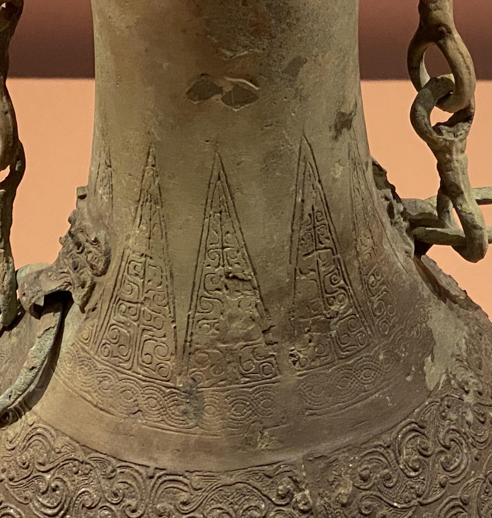 蟠螭紋銅提梁壺-戦国時代-特別展【食味人間】四川博物院・中国国家博物館