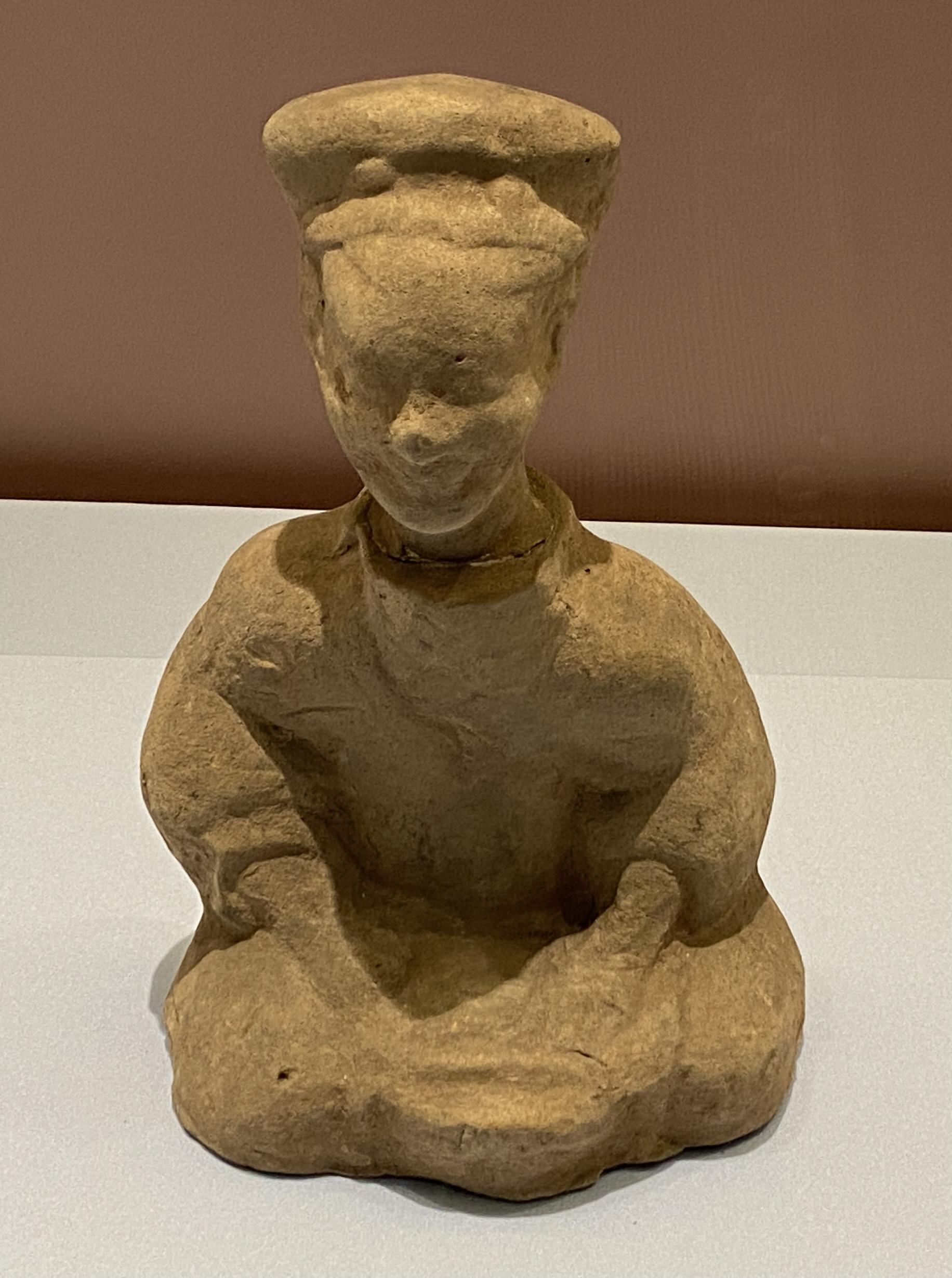 陶坐俑廚丁-東漢時代-特別展【食味人間】四川博物院・中国国家博物館