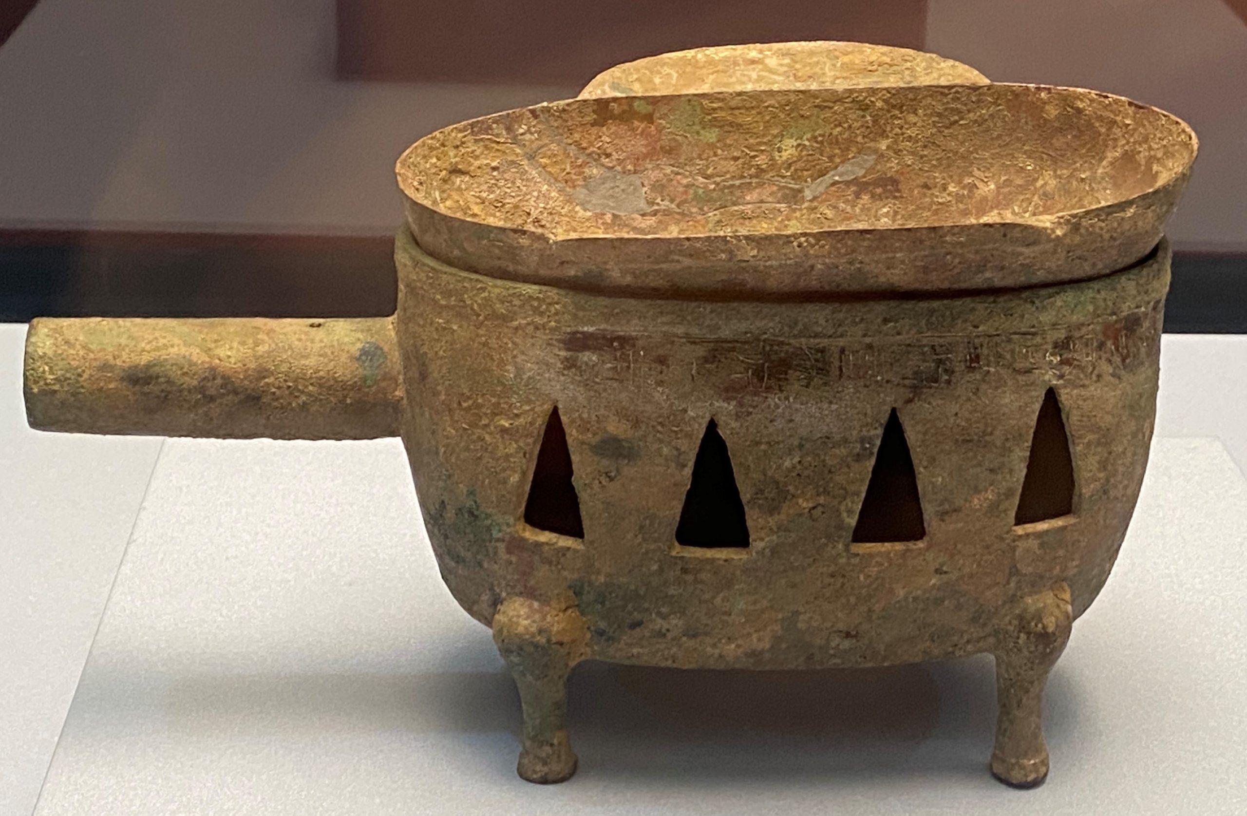 「清河食官」銅染器-漢時代-特別展【食味人間】四川博物院・中国国家博物館