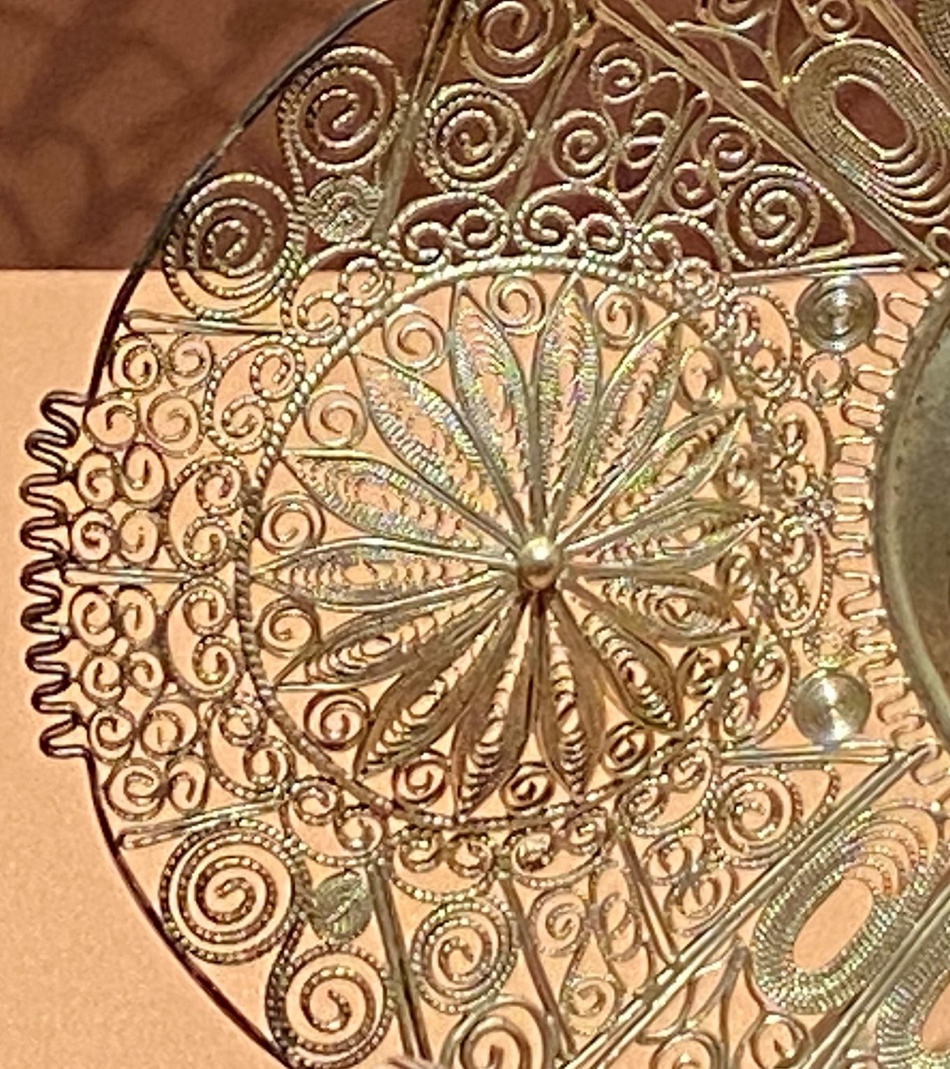 銀絲楕円盤-現代-特別展【食味人間】四川博物院・中国国家博物館