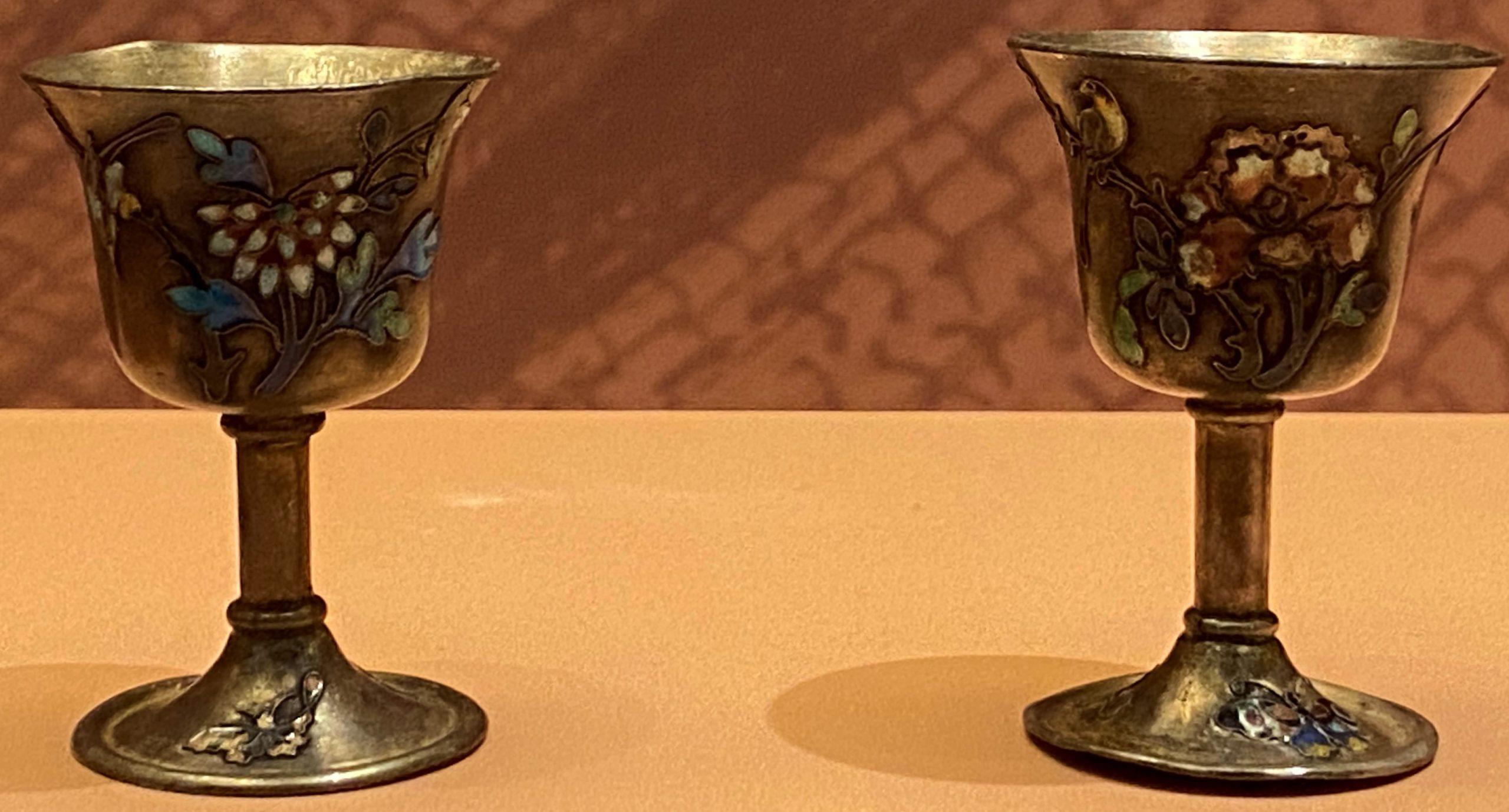 銀花酒杯-現代-特別展【食味人間】四川博物院・中国国家博物館
