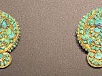 金嵌宝石耳飾件-特別展【七宝玲瓏-ヒマラヤからの芸術珍品】-金沙遺跡博物館-成都