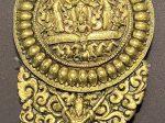 銅鎏金神像耳飾-特別展【七宝玲瓏-ヒマラヤからの芸術珍品】-金沙遺跡博物館-成都