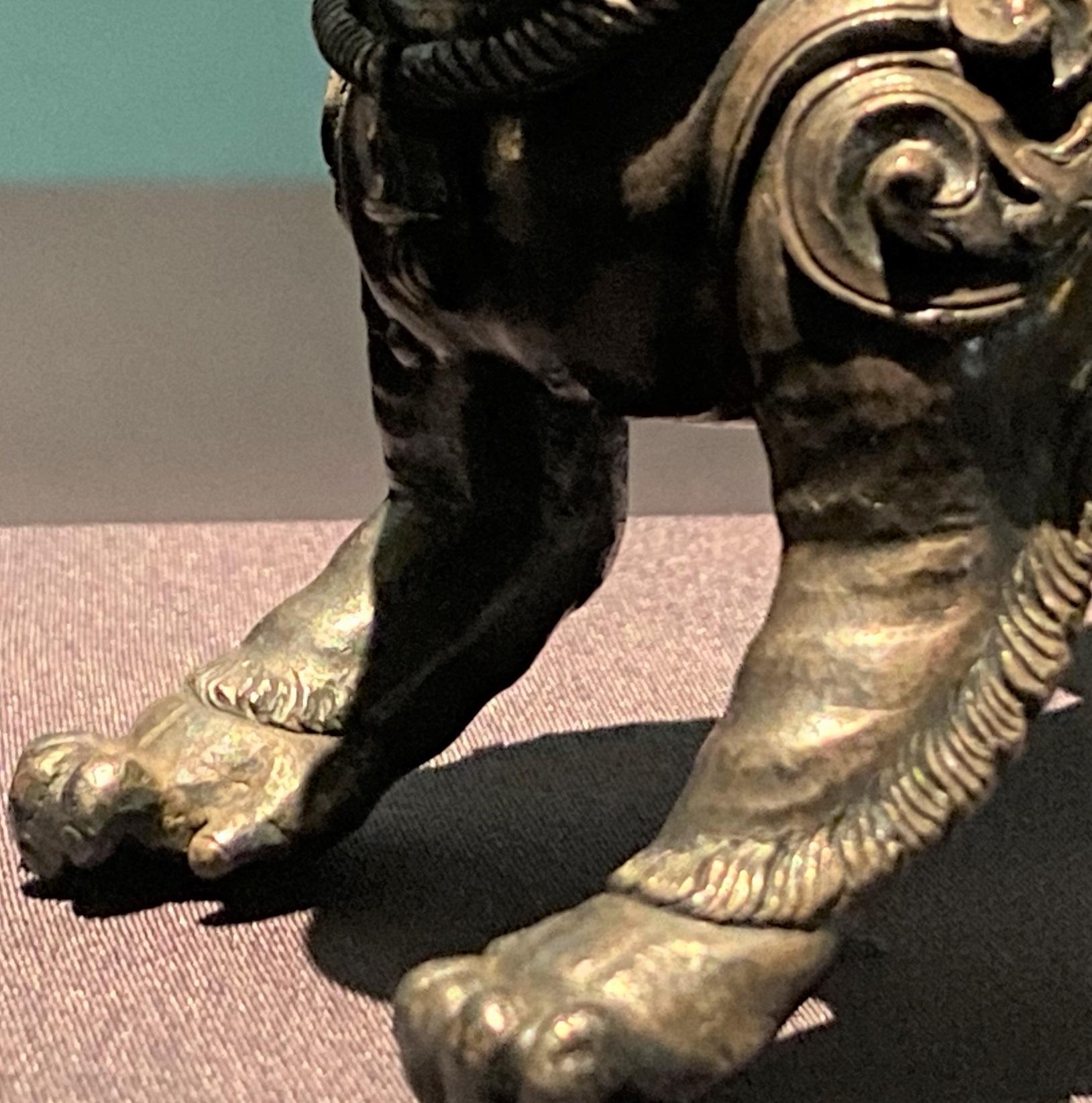 銀獅子-特別展【七宝玲瓏-ヒマラヤからの芸術珍品】-金沙遺跡博物館-成都
