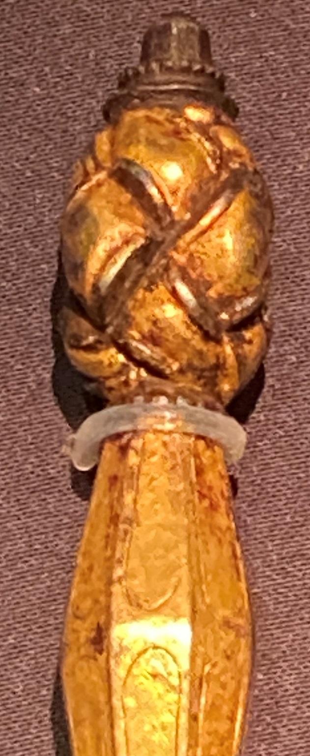 鋄金銀金剛橛-特別展【七宝玲瓏-ヒマラヤからの芸術珍品】-金沙遺跡博物館-成都