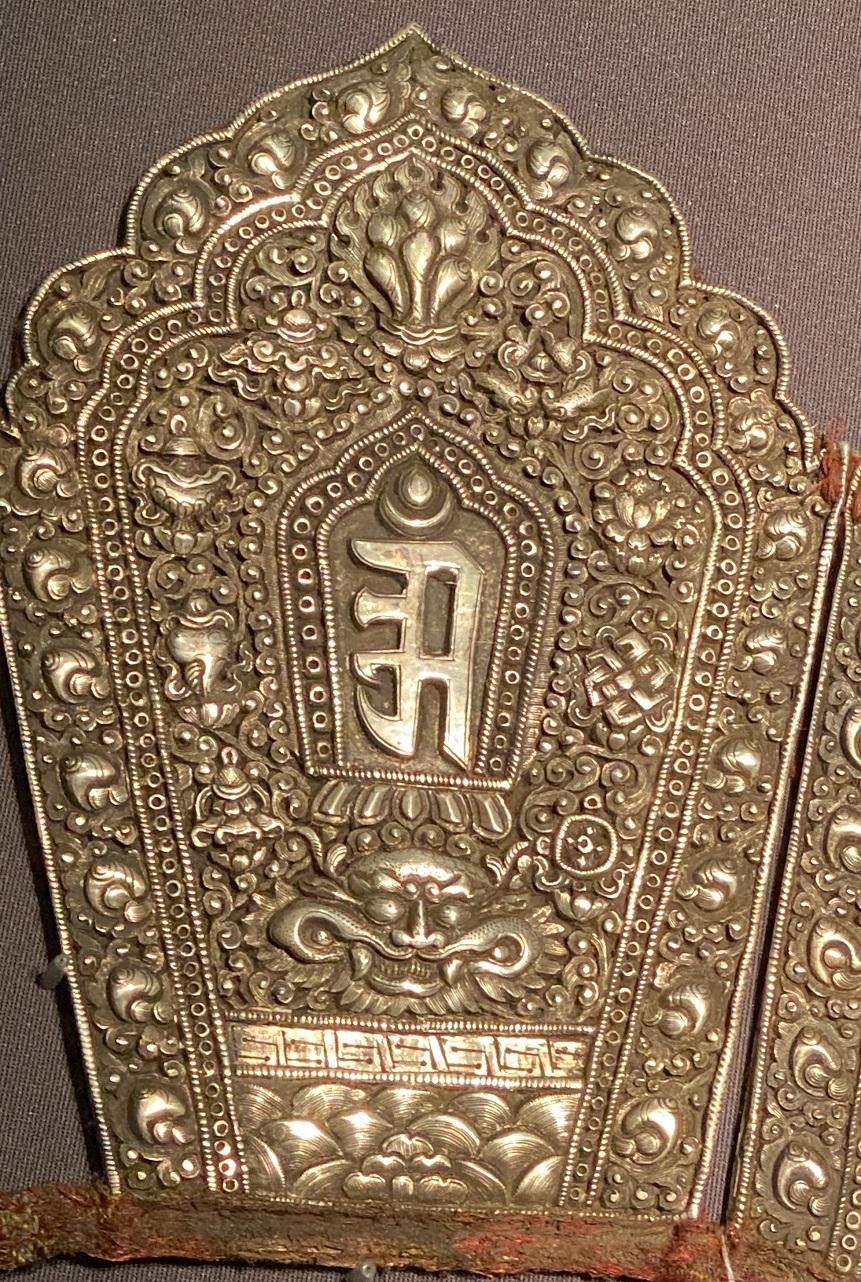 銀五方仏冠-特別展【七宝玲瓏-ヒマラヤからの芸術珍品】-金沙遺跡博物館-成都