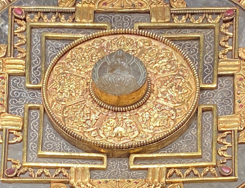 銅鎏金曼荼羅-特別展【七宝玲瓏-ヒマラヤからの芸術珍品】-金沙遺跡博物館-成都