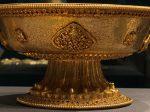 金高足盤-特別展【七宝玲瓏-ヒマラヤからの芸術珍品】-金沙遺跡博物館-成都
