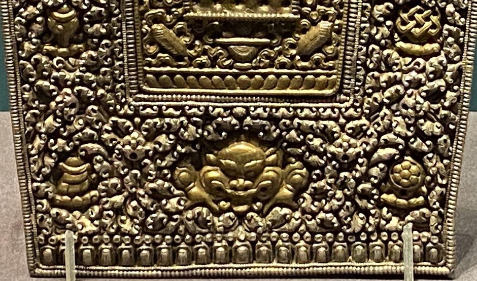 銀鎏金仏龕式嘎嗚-特別展【七宝玲瓏-ヒマラヤからの芸術珍品】-金沙遺跡博物館-成都