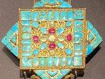 金嵌宝石曼陀羅式嘎嗚2-特別展【七宝玲瓏-ヒマラヤからの芸術珍品】-金沙遺跡博物館-成都