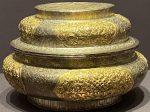 銀鎏金糍粑盒-特別展【七宝玲瓏-ヒマラヤからの芸術珍品】-金沙遺跡博物館-成都