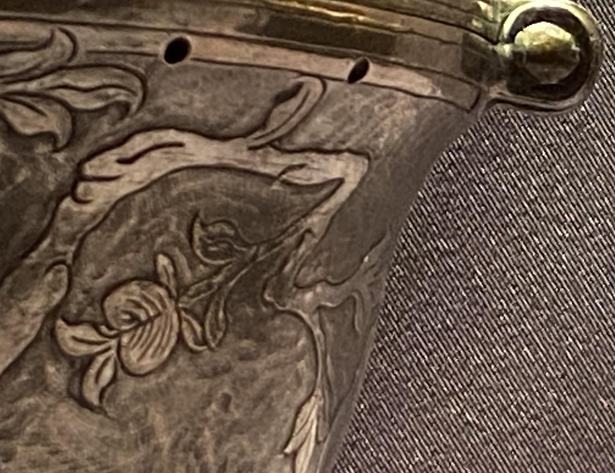 銅鏨花碗套 -特別展【七宝玲瓏-ヒマラヤからの芸術珍品】-金沙遺跡博物館-成都
