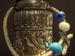 銀花鳥紋印章-特別展【七宝玲瓏-ヒマラヤからの芸術珍品】-金沙遺跡博物館-成都