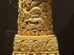 銅鎏金八吉祥印章-特別展【七宝玲瓏-ヒマラヤからの芸術珍品】-金沙遺跡博物館-成都