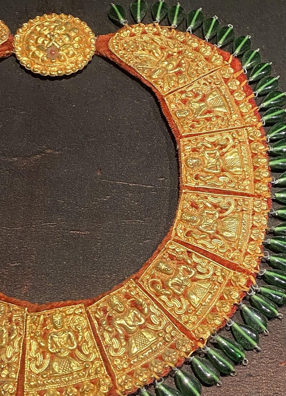 金ネックレス1-特別展【七宝玲瓏-ヒマラヤからの芸術珍品】-金沙遺跡博物館-成都