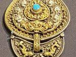 銀銀鎏「洛松」飾件-特別展【七宝玲瓏-ヒマラヤからの芸術珍品】-金沙遺跡博物館-成都