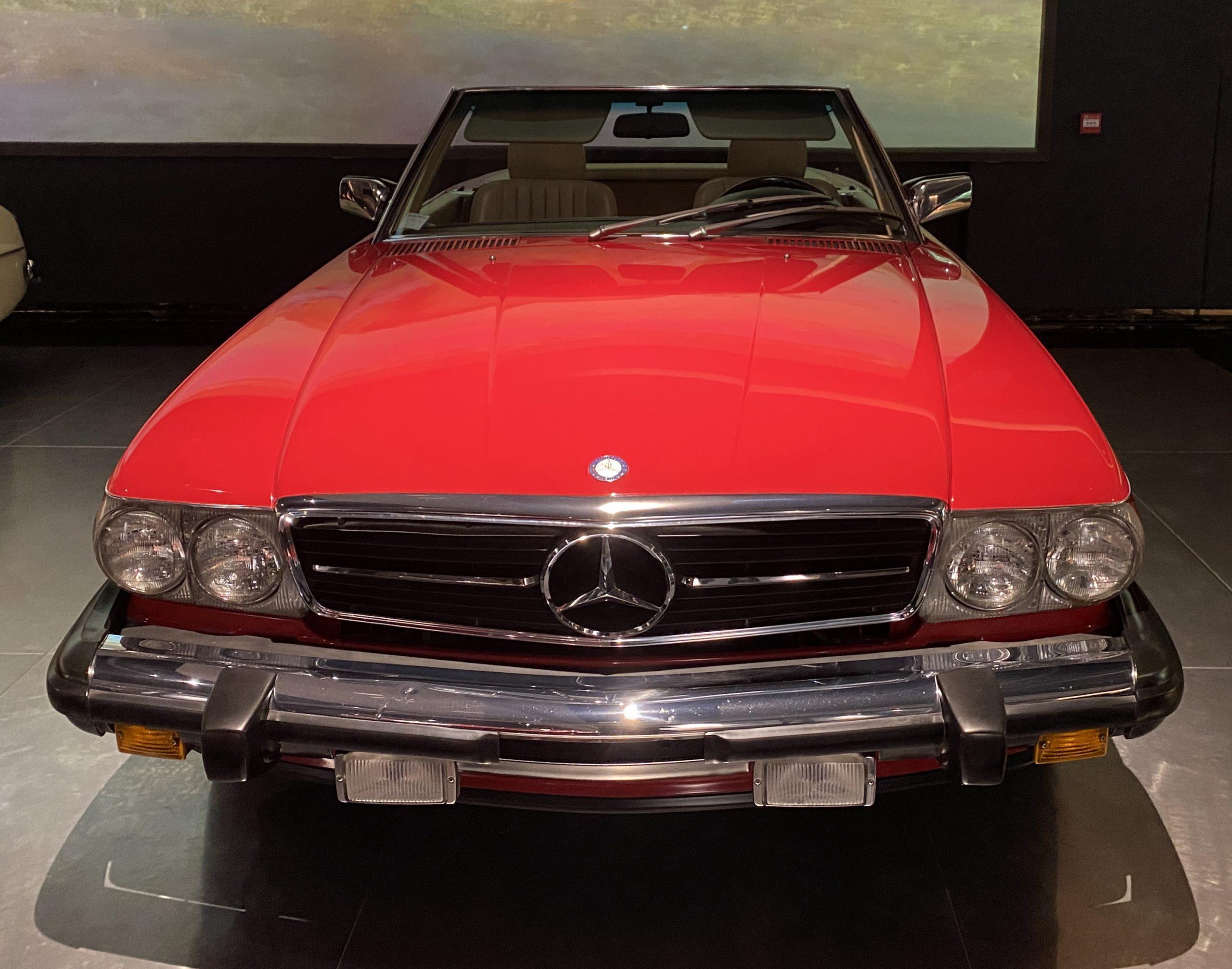 1989メルセデスベンツ560SL-1989 Mercedes Bens 560SL-常設展-三和老爺車博物館-成都市-四川省