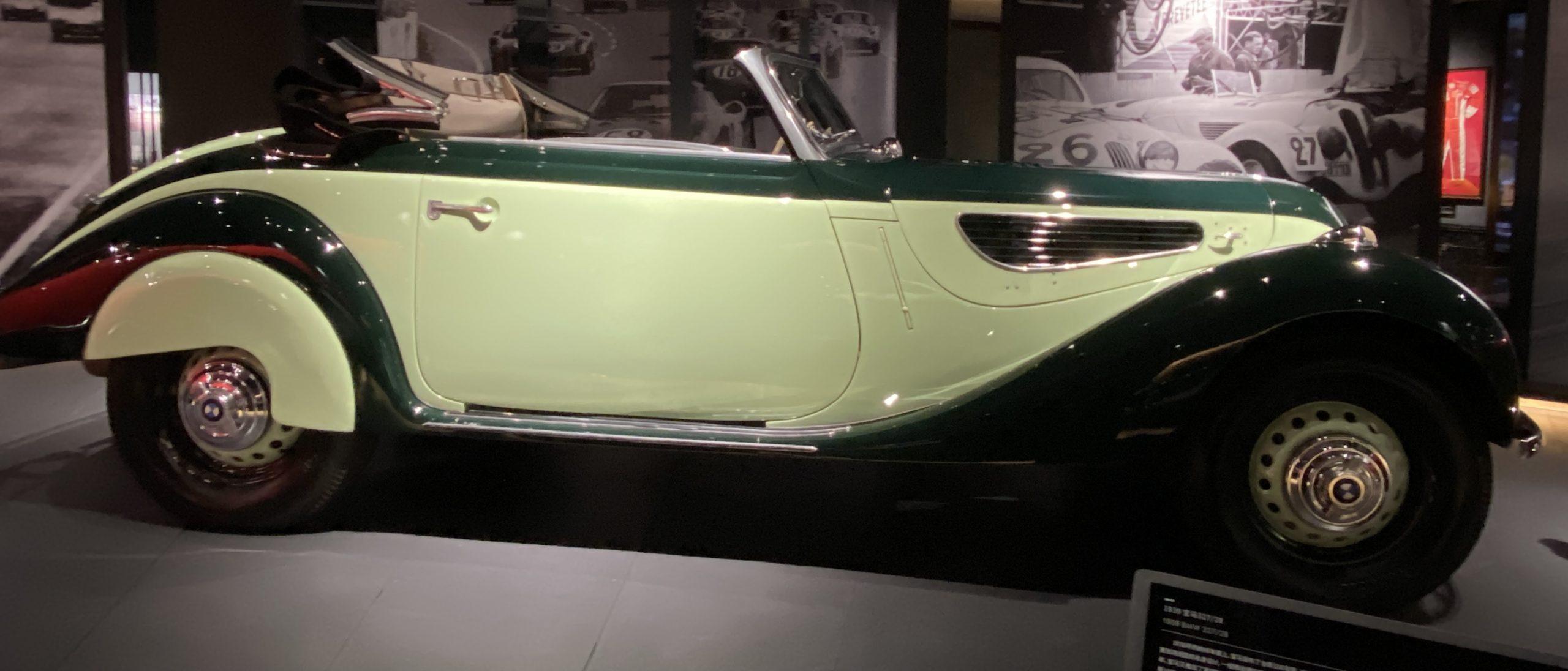 1939 BMW 327/28-常設展-三和老爺車博物館-成都市-四川省