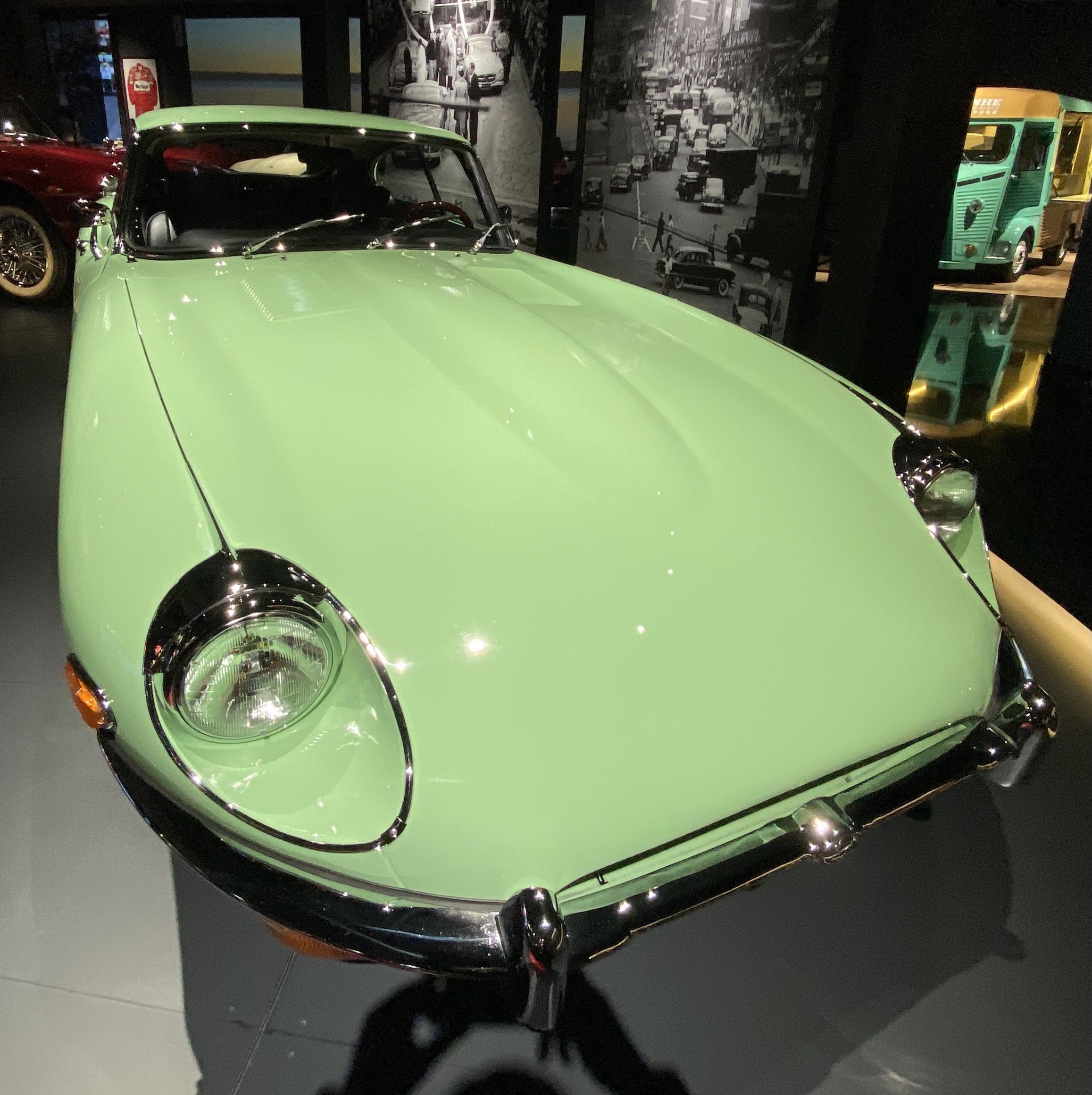 1969年ジャガーEタイプS2 -常設展-三和老爺車博物館-成都市-四川省