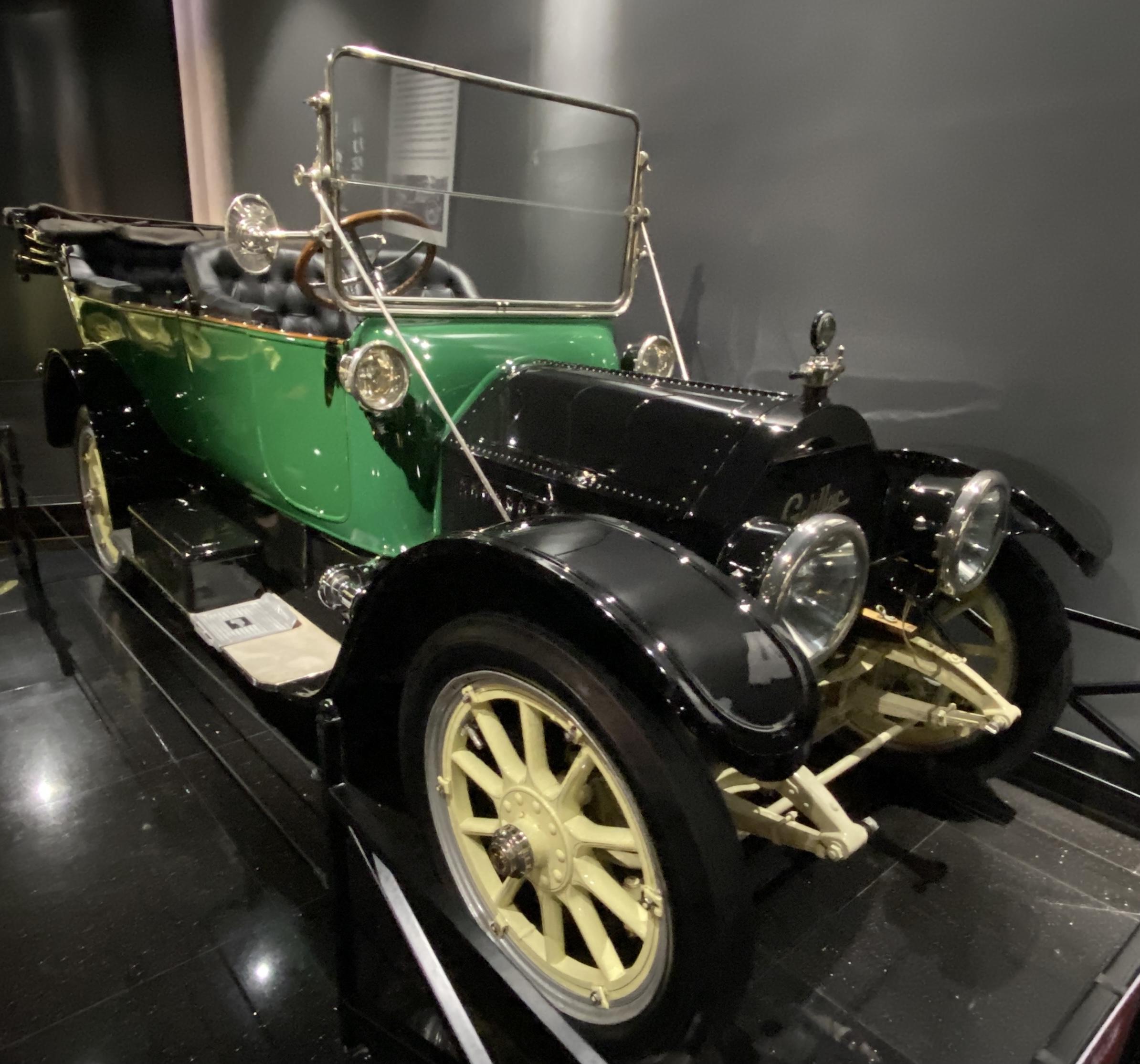 1913年キャデラックモデル30-1913 Cadillac Model  30-常設展-三和老爺車博物館-成都市-四川省