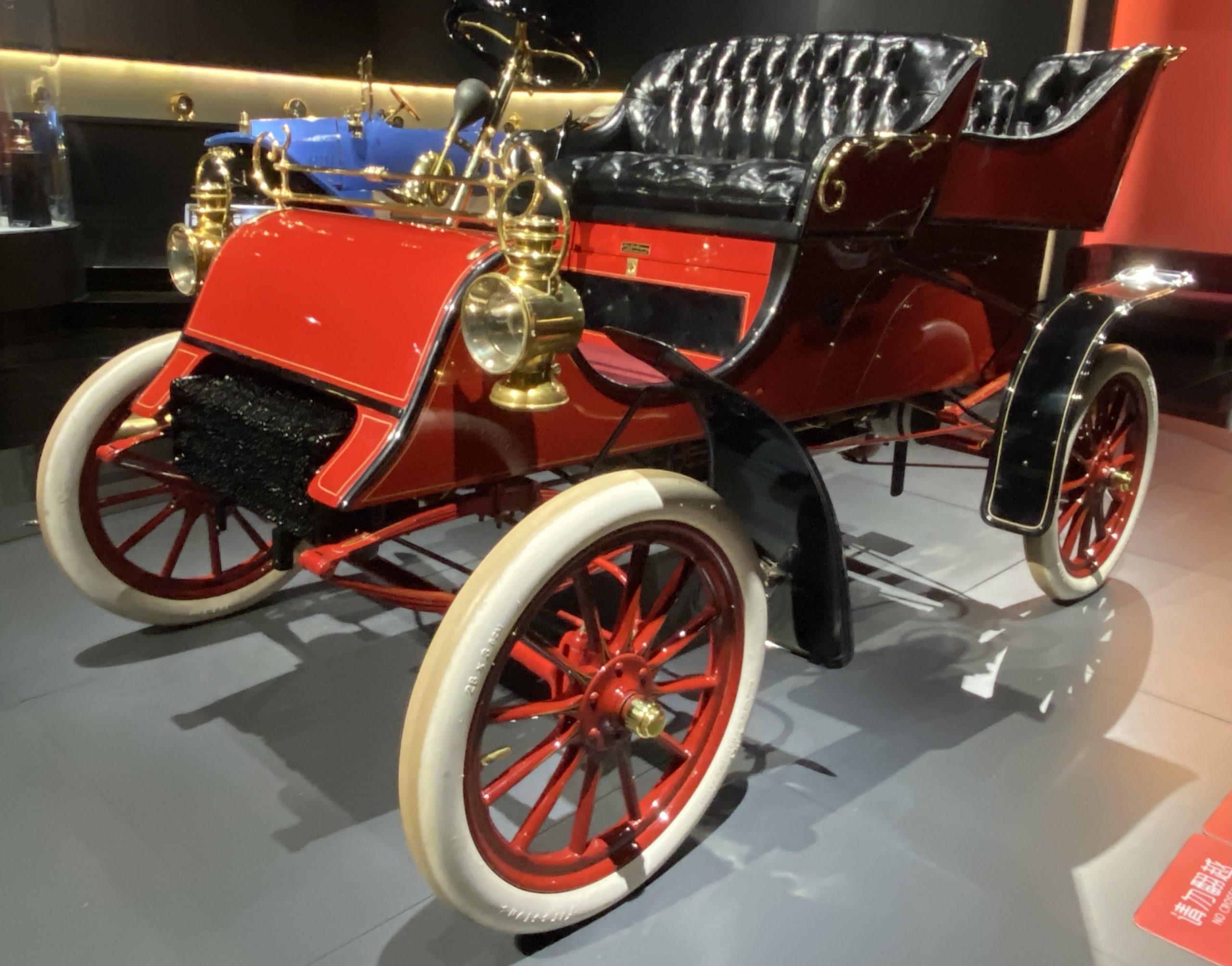 1903年フォードモデルA -1903 Ford Model A-常設展-三和老爺車博物館-成都市-四川省