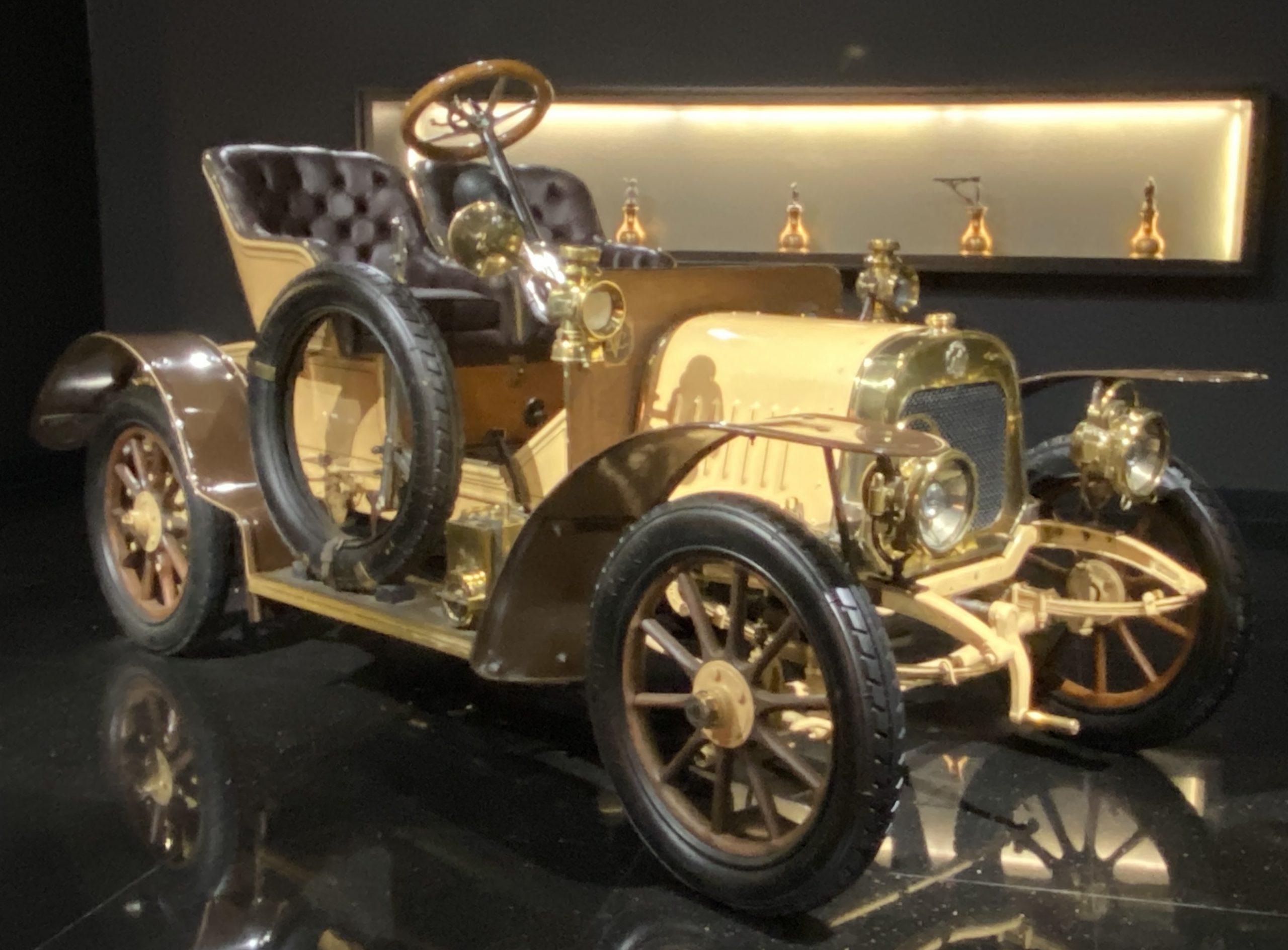 1906年ライオン・プジョータイプVA-1906 Lion・Peugeot Type VA-常設展-三和老爺車博物館-成都市-四川省