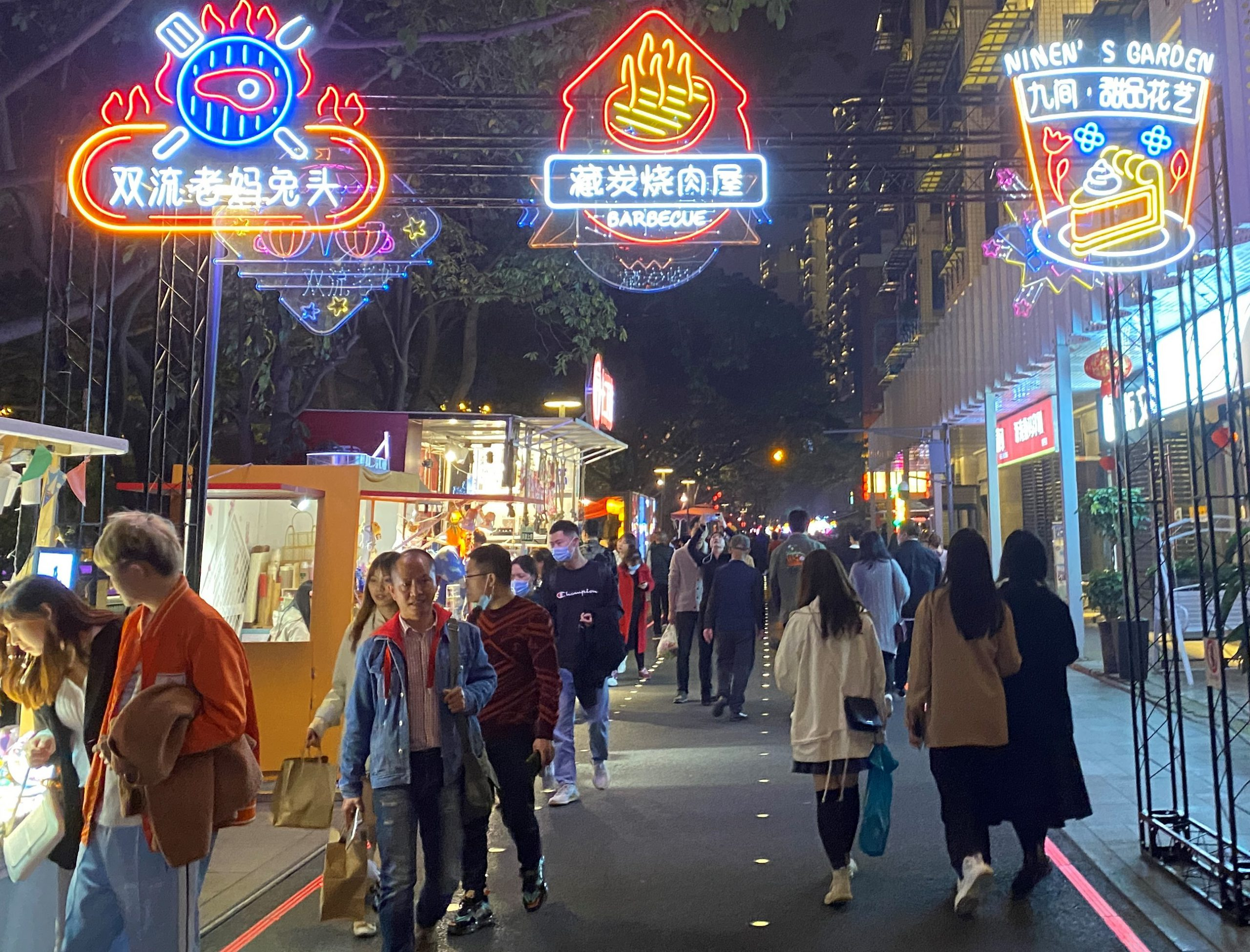 十二月市場-猛嘴湾-東風大橋-錦江川-成都-四川